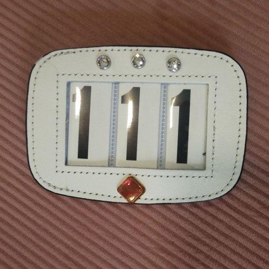 Номер турнирный LeMieux, с камнями Swarovski