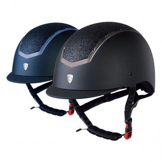 Шлем для конного спорта с блестящей вставкой, Tattini