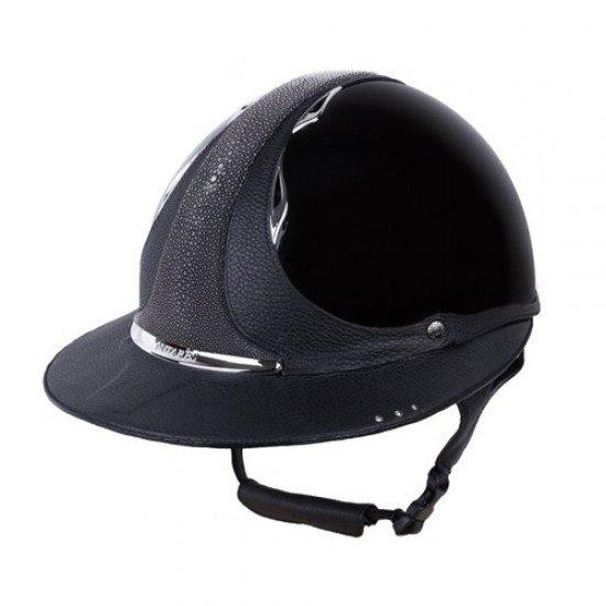 Шлем Eclipse Premium Swarowski, Antares с широким козырьком