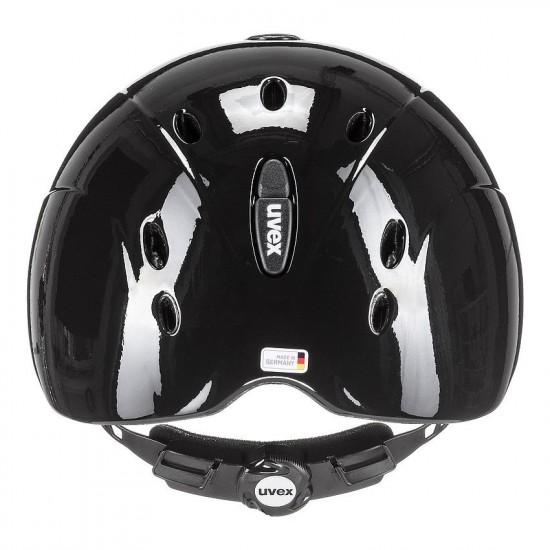 Шлем для верховой езды, onyxx shiny, Uvex, детский