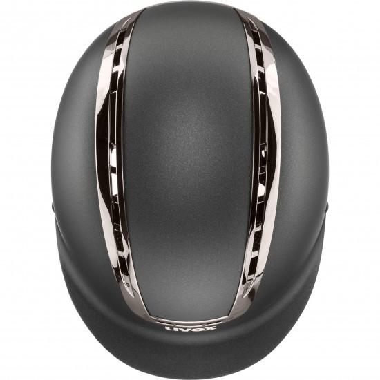 Шлем для верховой езды, suxxeed chrome, Uvex