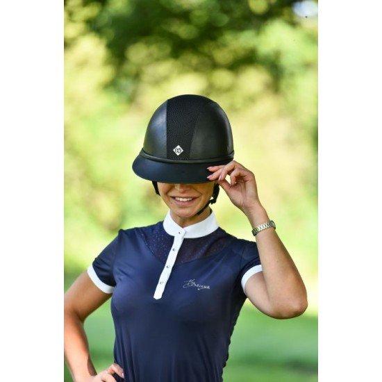 Шлем для верховой езды SP8 Leather Look, Charles Owen