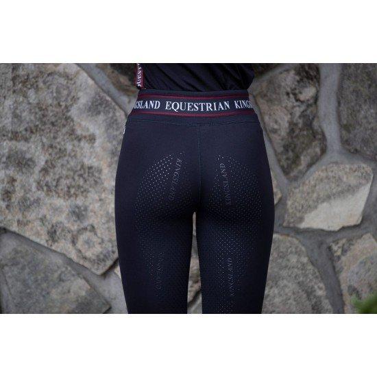 Лосины для верховой езды женские с полной силиконовой леей KLkarina, Kingsland