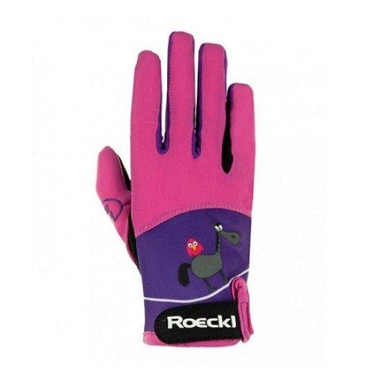 Перчатки для верховой езды детские Kansas, Roeckl