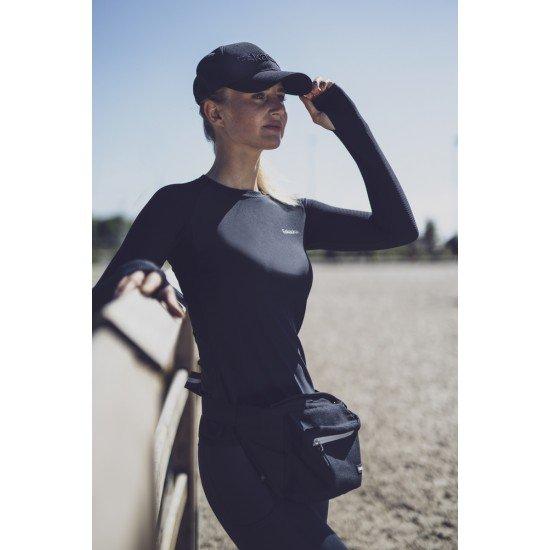 Футболка для конного спорта с длинным рукавом женская Longsleve Reflexx Eskadron