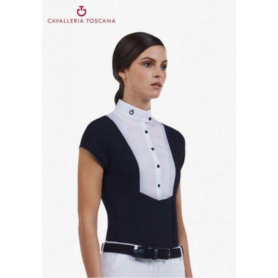 Рубашка турнирная женская с коротким рукавом Techn, Cavalleria Toscana