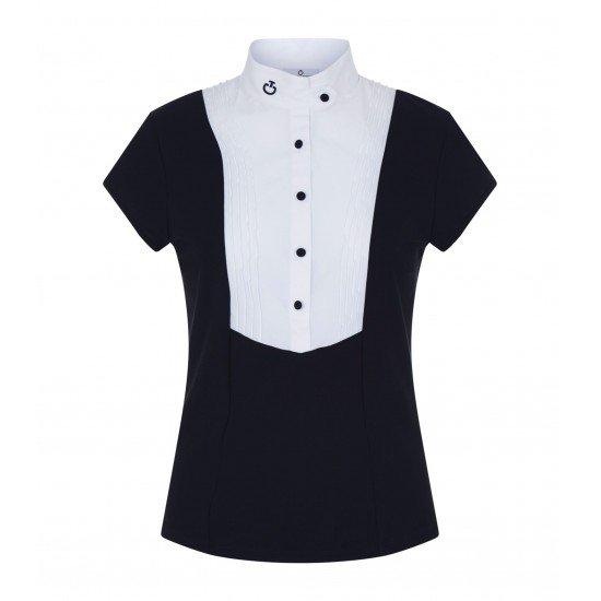 Поло футболка турнирная женская W/Shap Buttons, Cavalleria Toscana