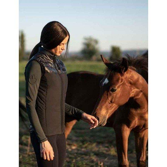Жилет для конного спорта женский Quilted Vest, Cavalleria Toscana