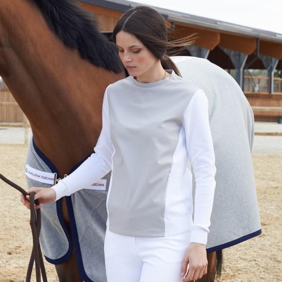 Толстовка Tech Jersey /Cotton Crew Neck Sweater Cavalleria Toscana