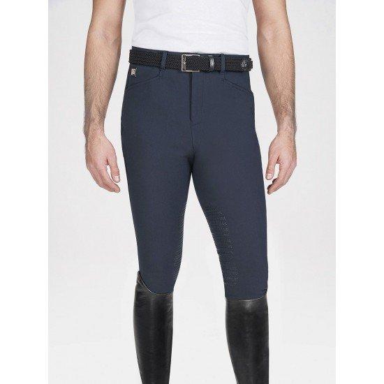 Бриджи мужские для конного спорта c коленной силиконовой леей Adam, Equiline