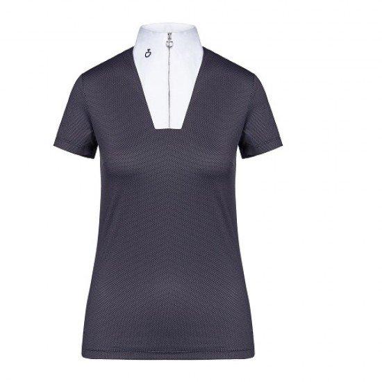 Поло футболка турнирное женское Jersey One Piece Collar SS, Cavalleria Toscana