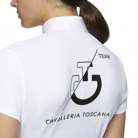 Футболка женская турнирная с коротким рукавом CT Team S/S Competition Polo, Cavalleria Toscana