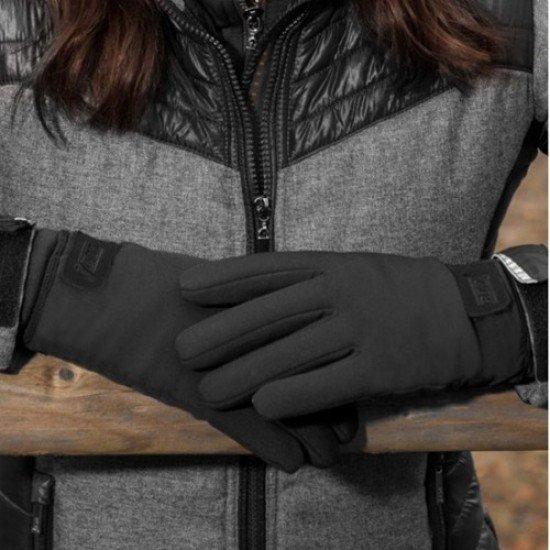"""Перчатки зимние черные Waldhausen  """"SNOW"""""""