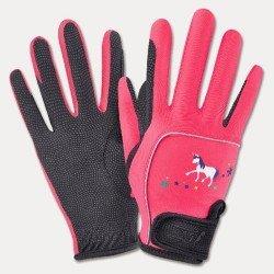 """Перчатки ELT """"Unicorn"""" розовые"""