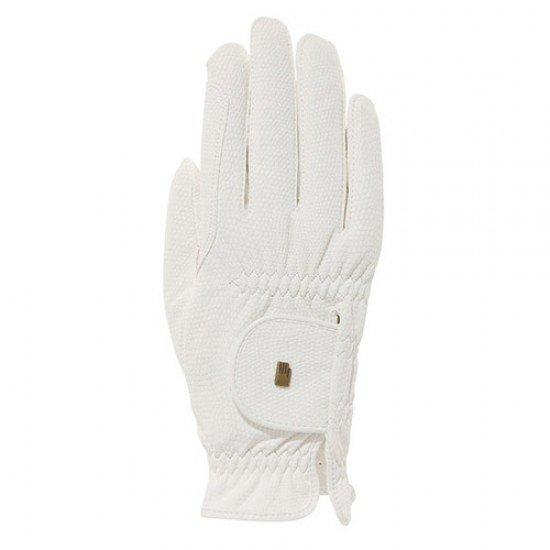 """Перчатки Roeckl """"Grip"""" white"""