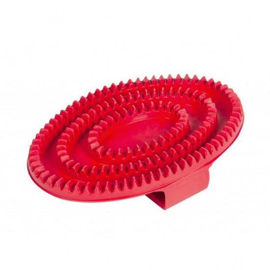 Скребок резиновый для лошади, HKM