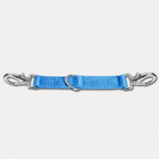 Переходник на корду Waldhausen (голубой), 25 см