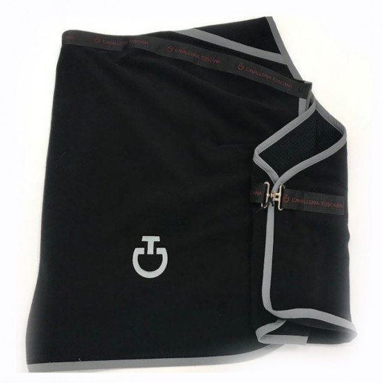 Попона флисовая Fleece Stripe Rug от Cavalleria Toscana