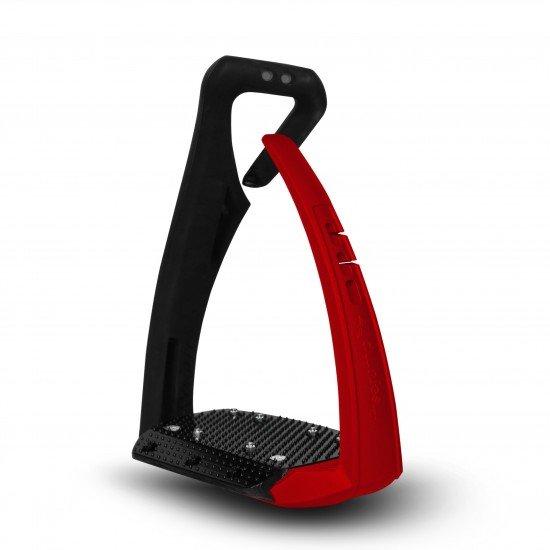 Стремена Soft'Up Pro Plus, Freejump Black/Red