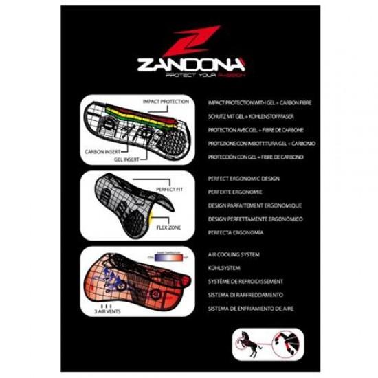 "Ногавки Zandora ""Carbon Air Balance Velcro Tendon"" на передние ноги"