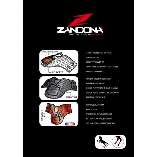 "Ногавки Zandora ""Superior Air Fetlock"" на задние ноги"