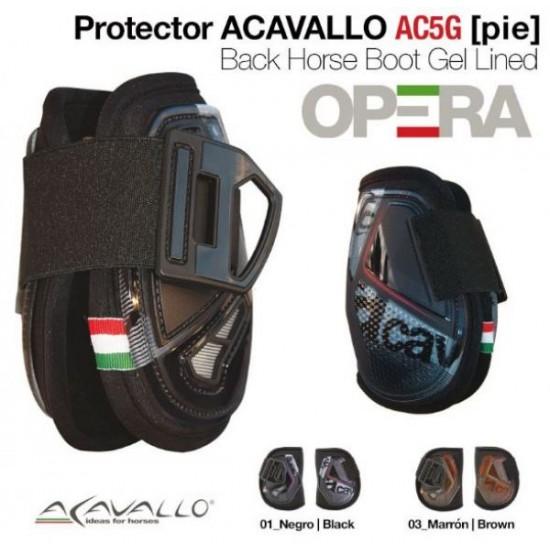 Ногавки задние с гелевой подкладкой Opera, Acavallo