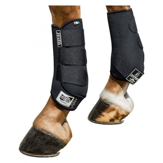 Ногавки выездковые с гелевой подкладкой Respira, Acavallo (зад)