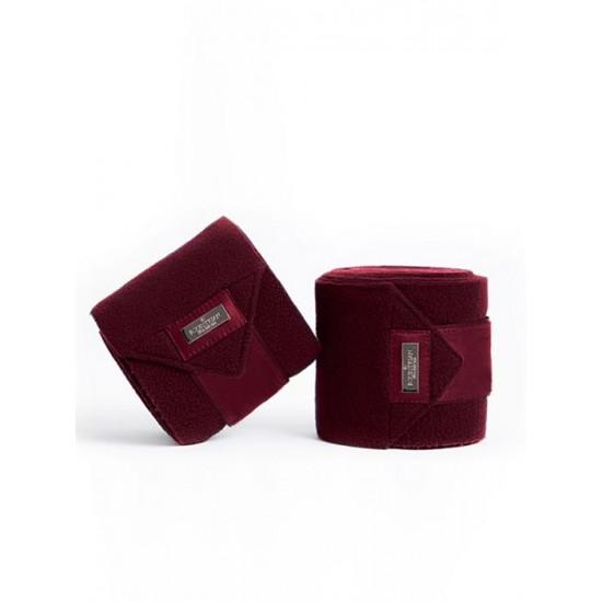 Бинты флисовые Equestirian Stockholm Bordeaux Bandages