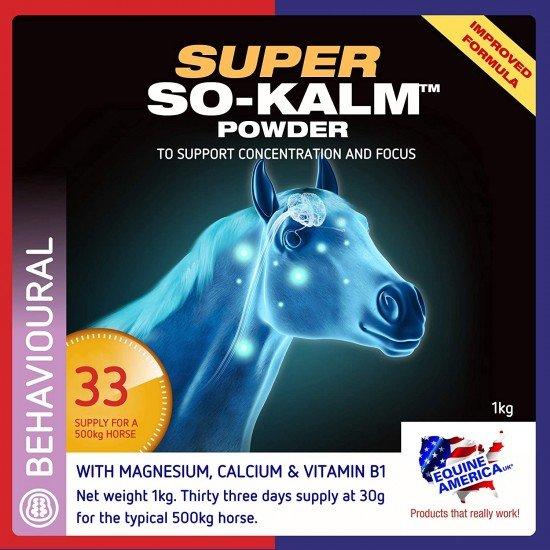 Паста для успокоения лошади Super So Kalm Powder 30 мл, Equine America