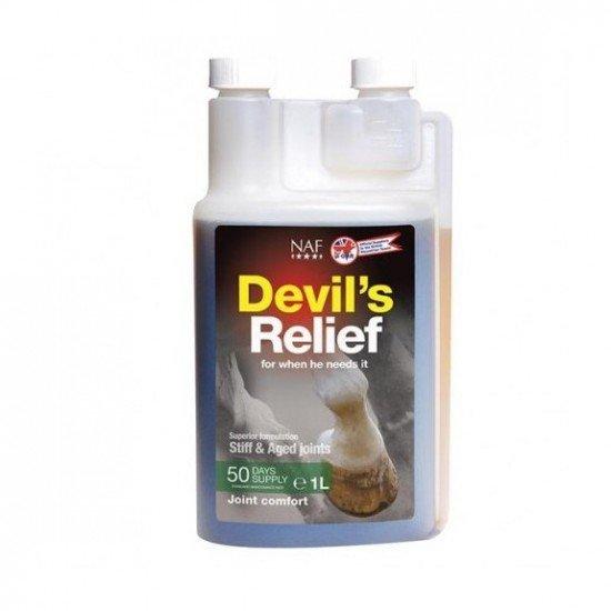 Добавка для скованных и постаревших суставов лошади Devils Relief, 1л, NAF 5 Stars