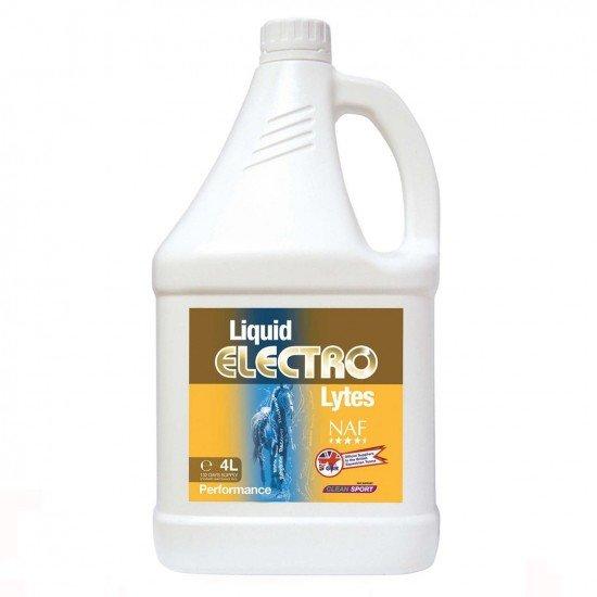Электролит для лошади для восстановления потерь микроэлементов Electro Lytes Liquid, NAF 5 Stars