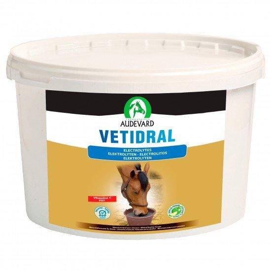 Электролит для лошади Vetidral для восстановления минерального баланса от Audevard, 5 kg