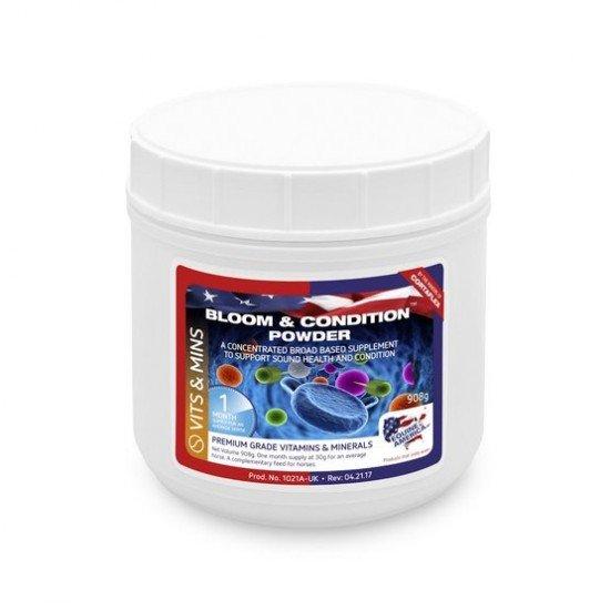 Добавка для баланса витаминов и минералов и пищеварения Bloom&Conditioning от Equine America, 908 г