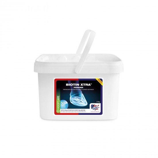 Добавка для поддержания здоровья копыт с биотином Biotin Xtra, Equine America,  2,5 кг