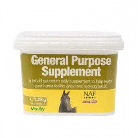 Подкормка для лошади ежедневная широкого спектра дейставия General Purpose Supplement, NAF 5 Stars