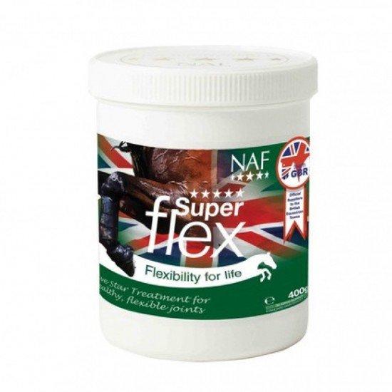 Добавка для здоровья и гибкости суставов лошади Superflex, 800г, NAF 5 Stars
