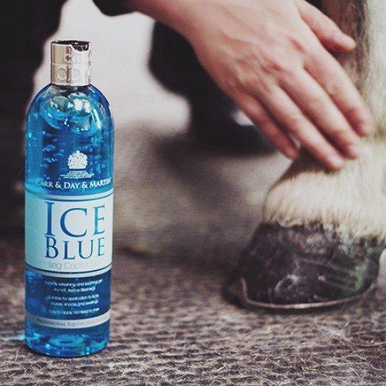 Гель для ног лошади охлаждающий Carr&Day&Martin, Ice Blue Leg Cooler Gel, 500 мл