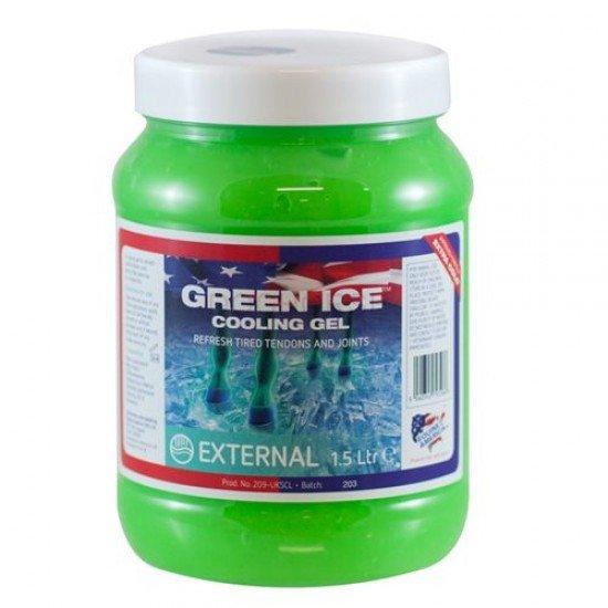 """Гель охлаждающий Green Ice от Equine America """"Like Ice"""", 1,5 л"""