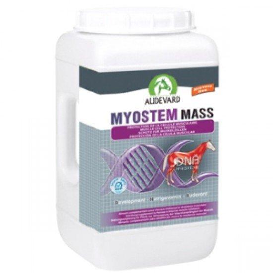 Пищевая поддержка для мышечного развития у лошадей во время тренировок, для пожелых и ослабленых лошадей и для жеребят Myostem Mass, AUDEVARD