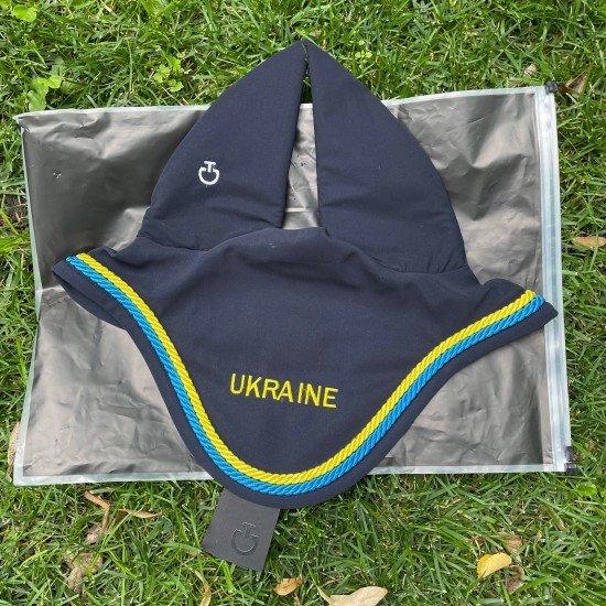 Ушки для лошади глухие Cuffla Team Ukraine от Cavalleria Toscana