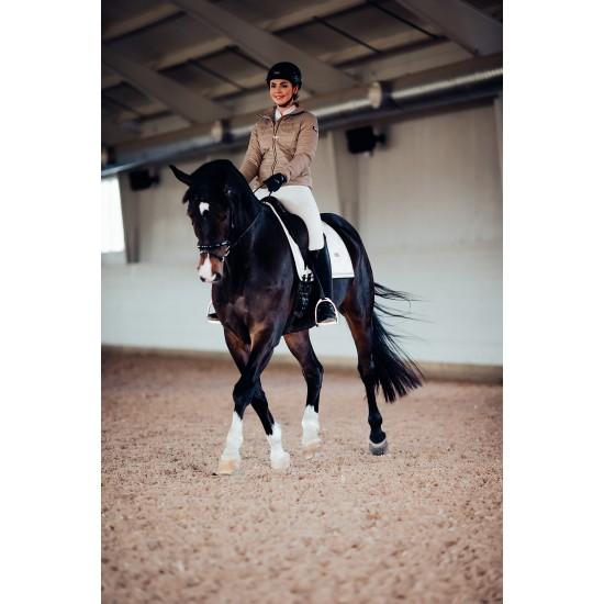 Вальтрап выездковый Equestrian Stockholm WHITE PERFECTION GOLD