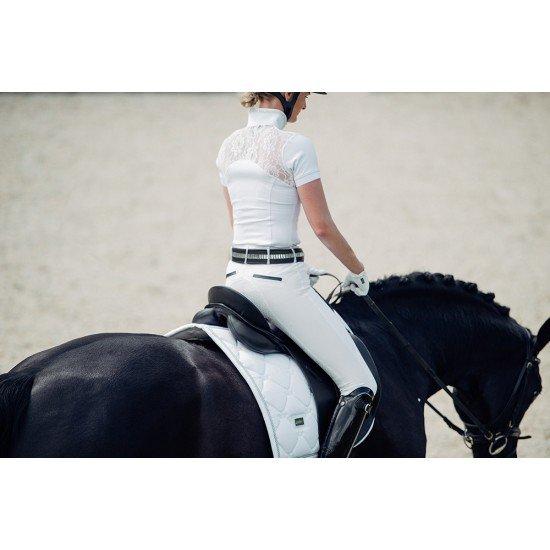 Вальтрап выездковый Equestrian Stockholm WHITE PERFECTION SILVER