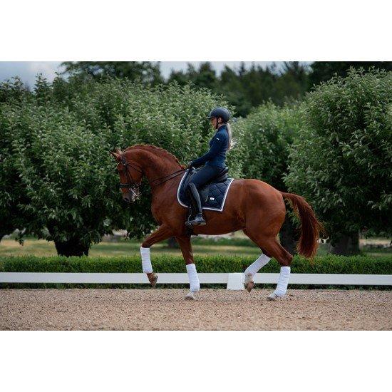Вальтрап выездковый Equestrian Stockholm MIDNIGHT WHITE EDGE